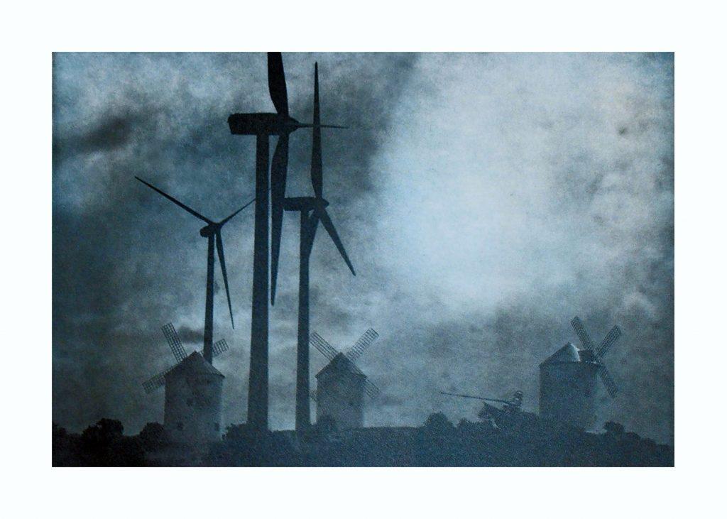 Wind mills and turbines